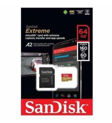 Carte Memoire Kingston 16Gb Micro Sd Class 10 Uhs-I 80Mb/S Sdcs/16Gb